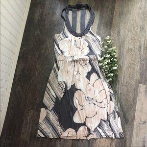 Deletta | Saltwater Blossom Halter Dress
